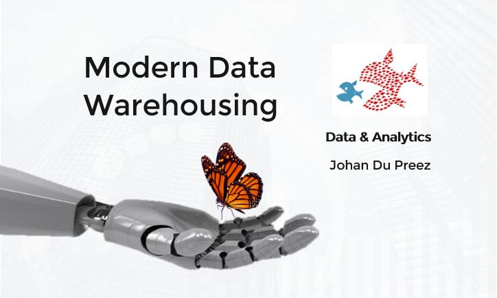 Modern data warehousing